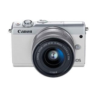 Harga Kamera Mirrorless Canon EOS M100 termurah terbaru dengan Review dan Spesifikasi April 2019
