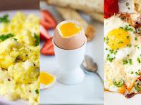 Kalori Telur Rebus, Ceplok dan Orak-arik, Mana yang Paling Sehat?