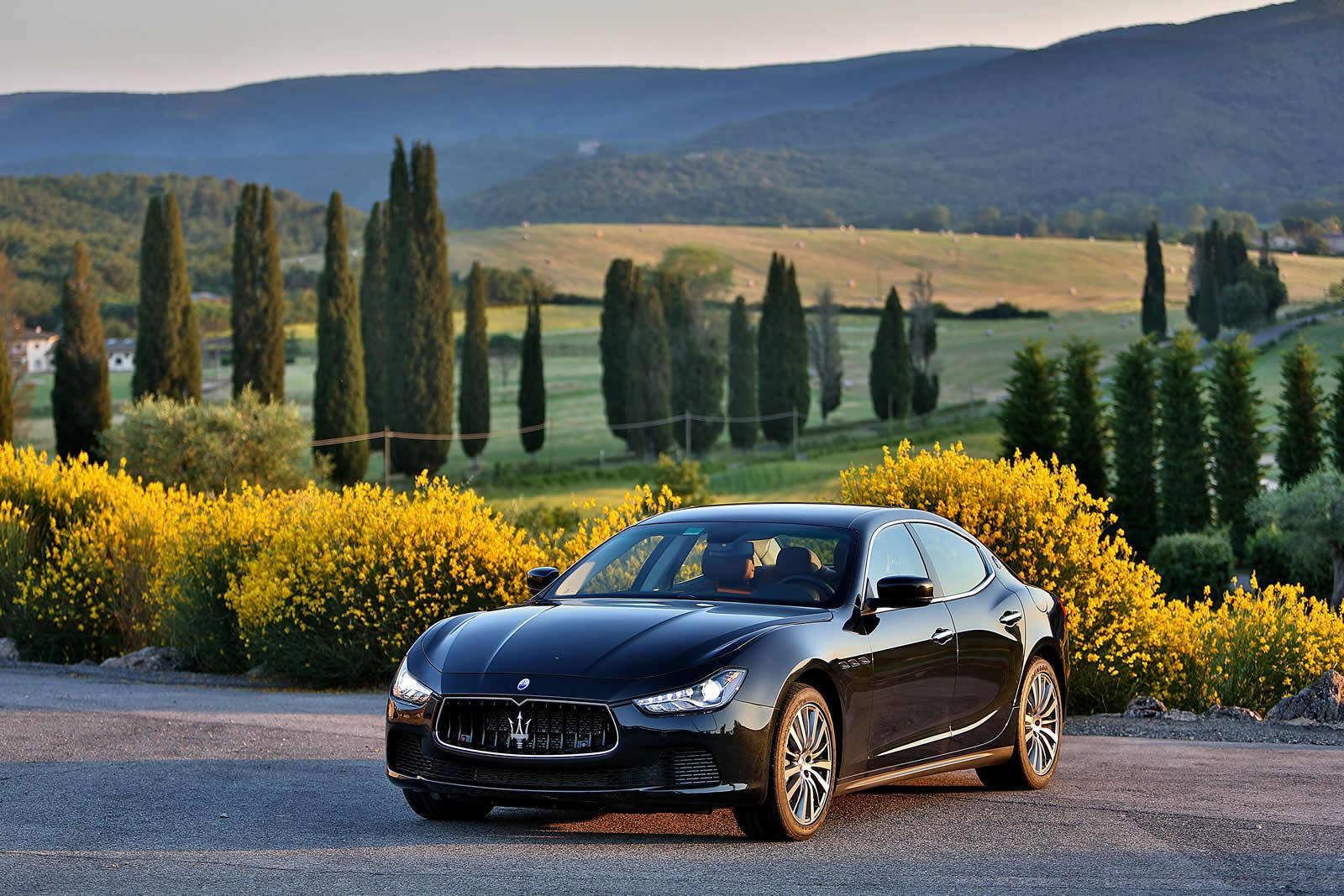 КЛАССНЫЕ ФОТО АВТО! (и не только): Maserati Ghibli (2013)