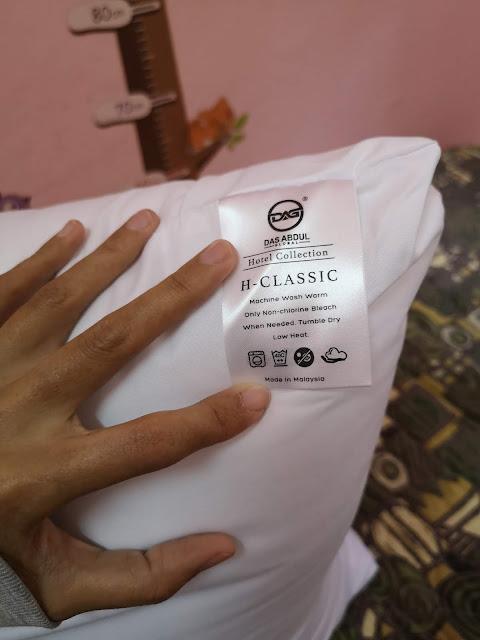 Tidur Lena dengan Bantal Hotel Berkualiti Das Abdul Global (DAG)