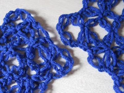 crochet, love knot, gauge, how to