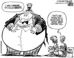 Satire essays on obesity
