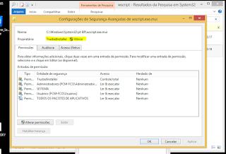 procedimento para remover arquivos nativos do sistema operacional
