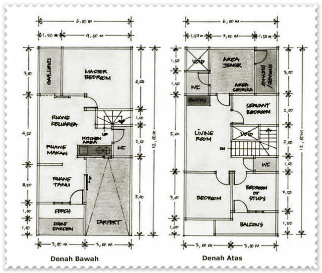 gambar rumah minimalis sederhana type 21-2-LANTAI