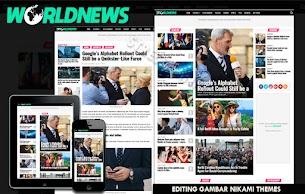 Templates World News Magazine premium For Blogger - Responsive Blogger Template