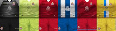 PES 6 Kits RCD Espanyol Season 2018/2019 by VillaPilla