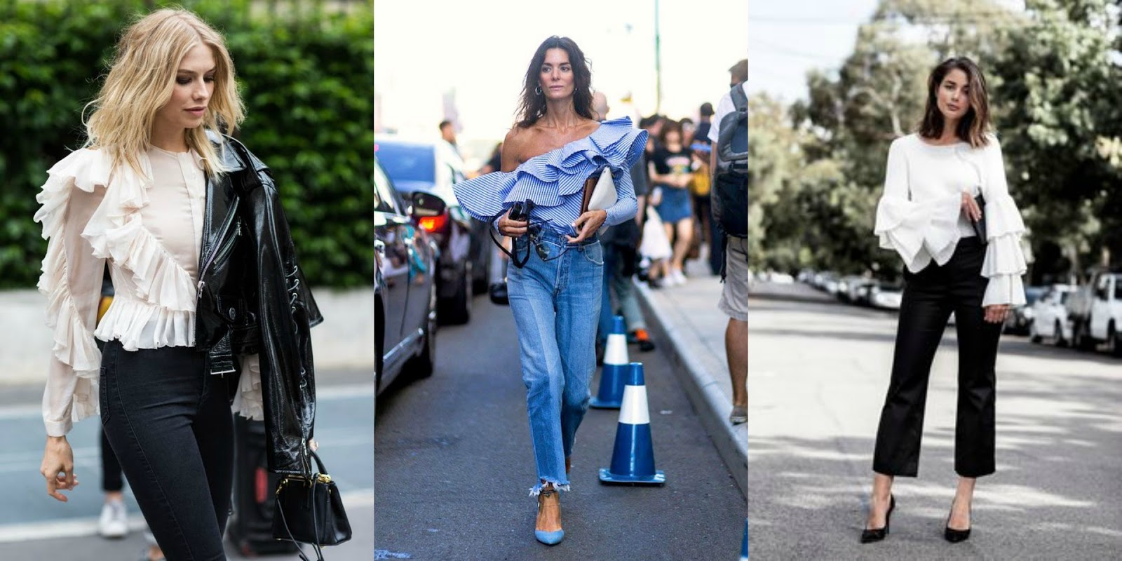 How To Style// Ruffles