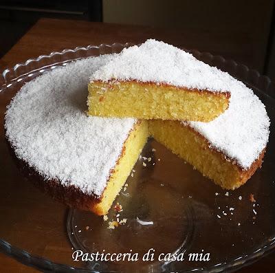 torta al cocco ricetta di pasticceria di casa mia