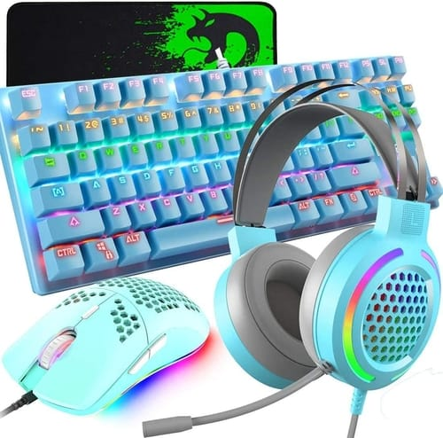 Review FELICON 4-in-1 Gaming Keyboard Mouse Combo Headset