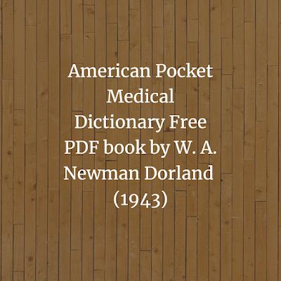 American Pocket Medical Dictionary