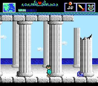 The Battle of Olympus - Columnas