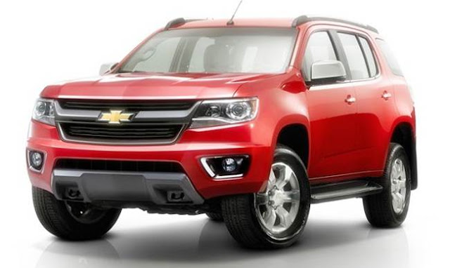 2017 Chevy Blazer K-5 Redesign