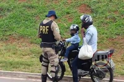 Câmara aprova aumento para 11 anos da idade mínima de criança em moto