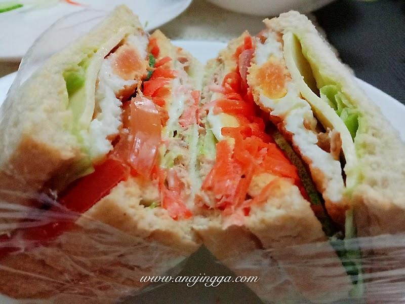 Nak juga ber Wanpaku Sandwich