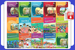 Buku Paket K13 Revisi Untuk SD Kelas 1 Semester 1 dan 2 [Terbaru]