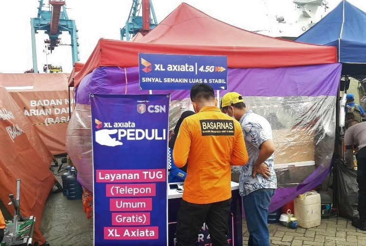 XL Pastikan Jaringan Berkualitas Bagi Tim Evakuasi Sriwijaya Air