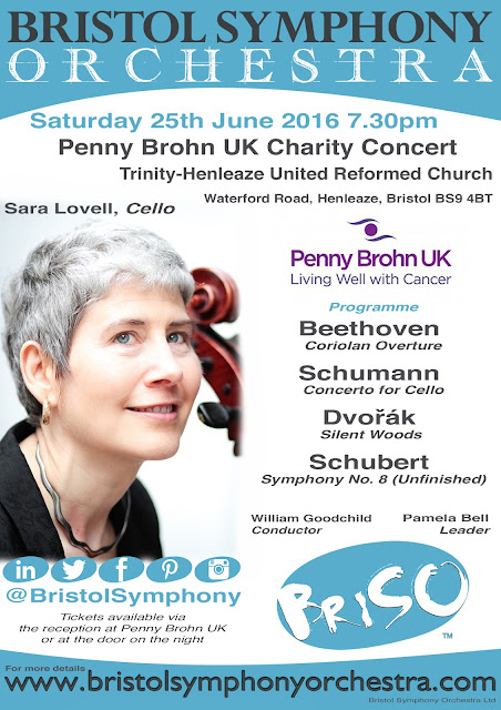 BRISTOL SYMPHONY AND SARA LOVELL SUPPORTING PENNY BROHN UK