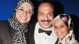 The death of Khaled Saleh's wife وفاة زوجة خالد صالح