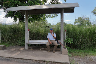 Costa Rica Bus Stop