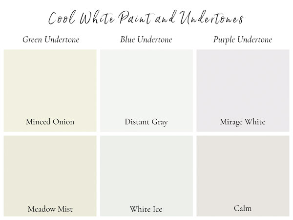 white paint colors with cool undertones.