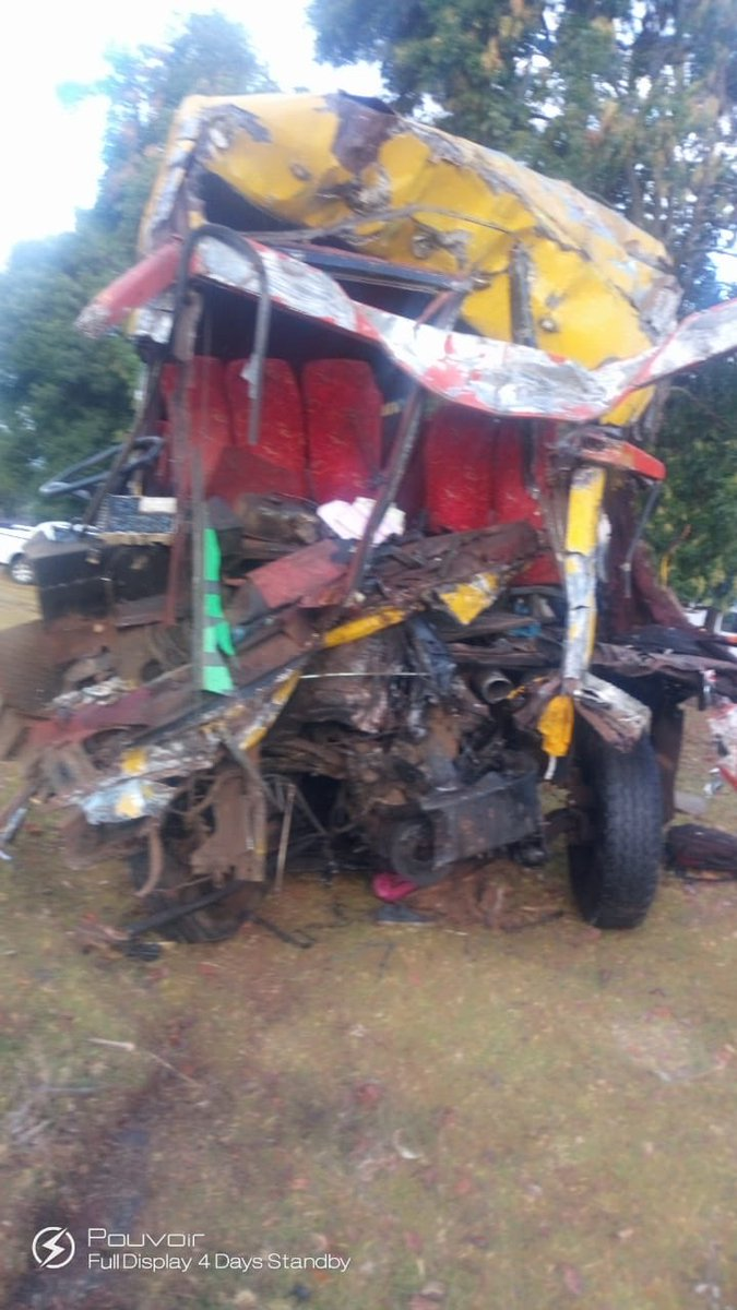 7 DEAD, Several seriously Injured In Accident At Kamara On Nakuru-Eldoret highway