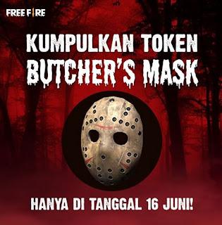 Cara Mendapatkan Butcher Mask Free Fire (FF) di Event Rampage, Begini Caranya