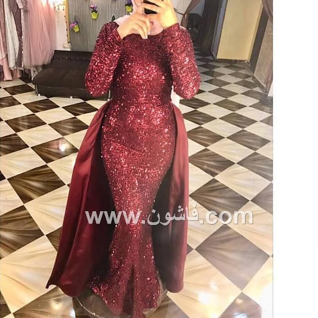 dresses soiree veiled 2020