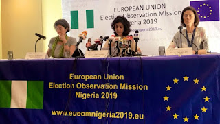 PDP happy with EU report on Nigeria's 2019 general election