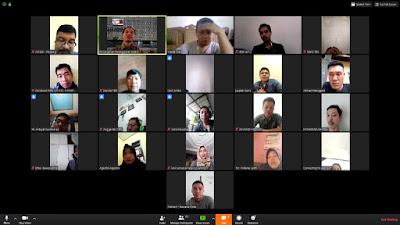 Bawaslu Bandar Lampung Adakan Rakor Penanganan Pelanggaran Melalui Videoconference