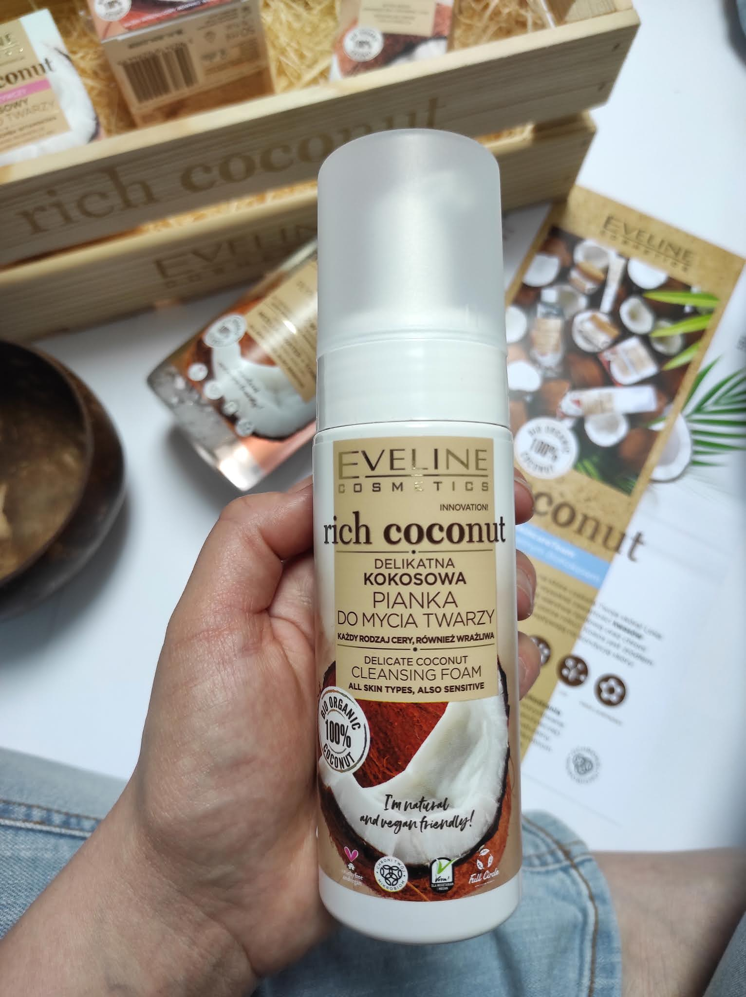 Rich  coconut Eveline Cosmetics