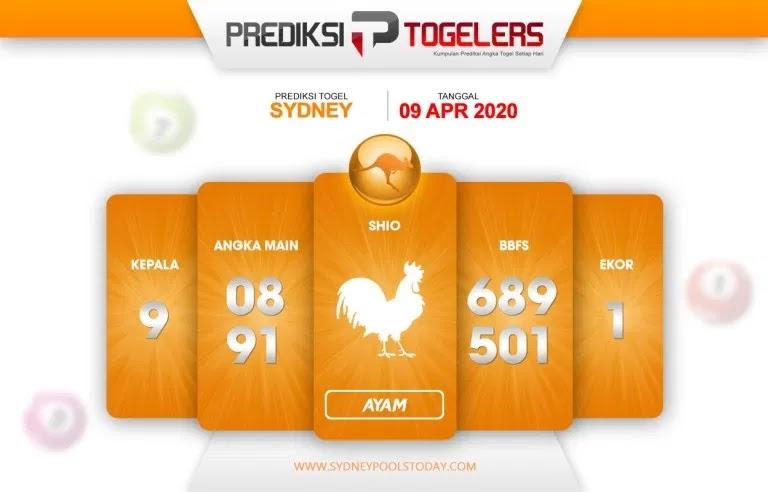 Prediksi Togel Sidney Kamis 09 April 2020 - Prediksi Togellers