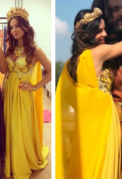 Vestido amarelo O rico e o Lazaro