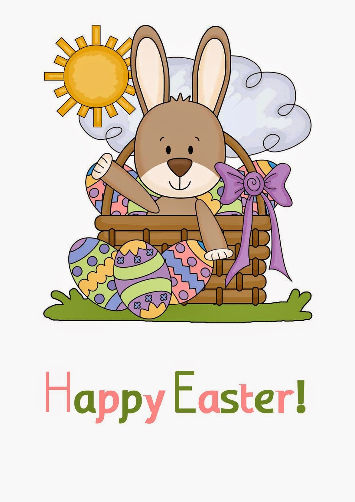 English Time Happy Easter