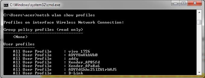 How To Find WiFi Password in Windows PC using command prompt (cmd)
