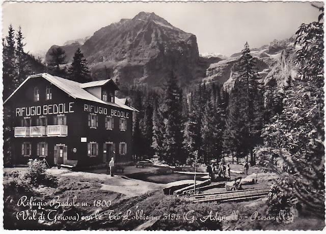 rifugio Bedole 1950