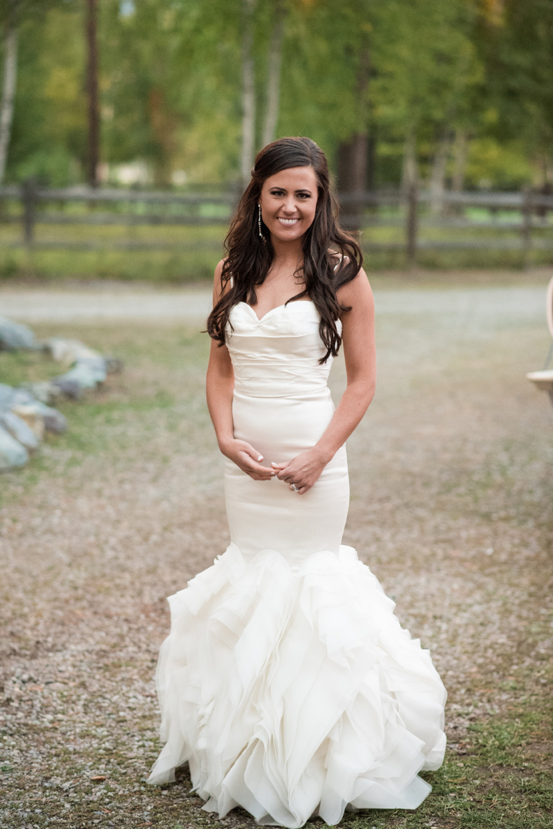 Bride / Montana Wedding / Photography: Kelly Kirksey Photography / Planner: Tanya Gersh Events / Florist: Mum's Flowers