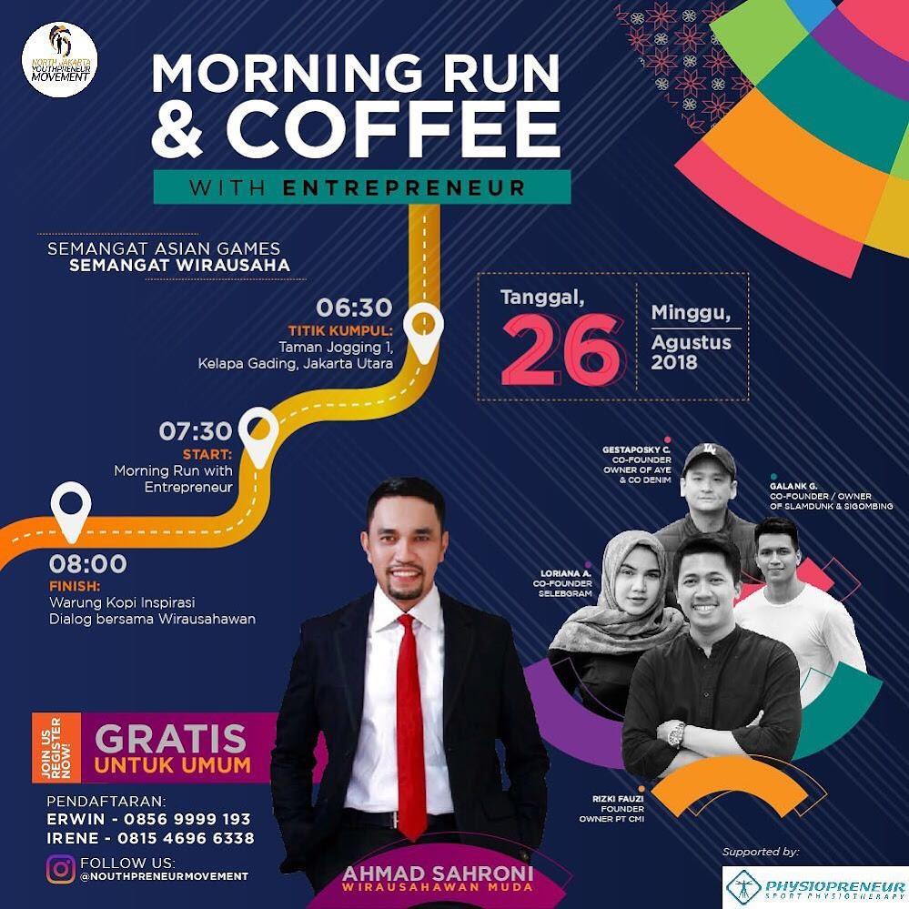 Morning Run & Coffee • 2018