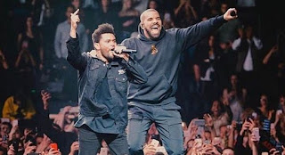 """Here Is Drake & The Weeknd """"Crew Love"""" Video As They Perform"""
