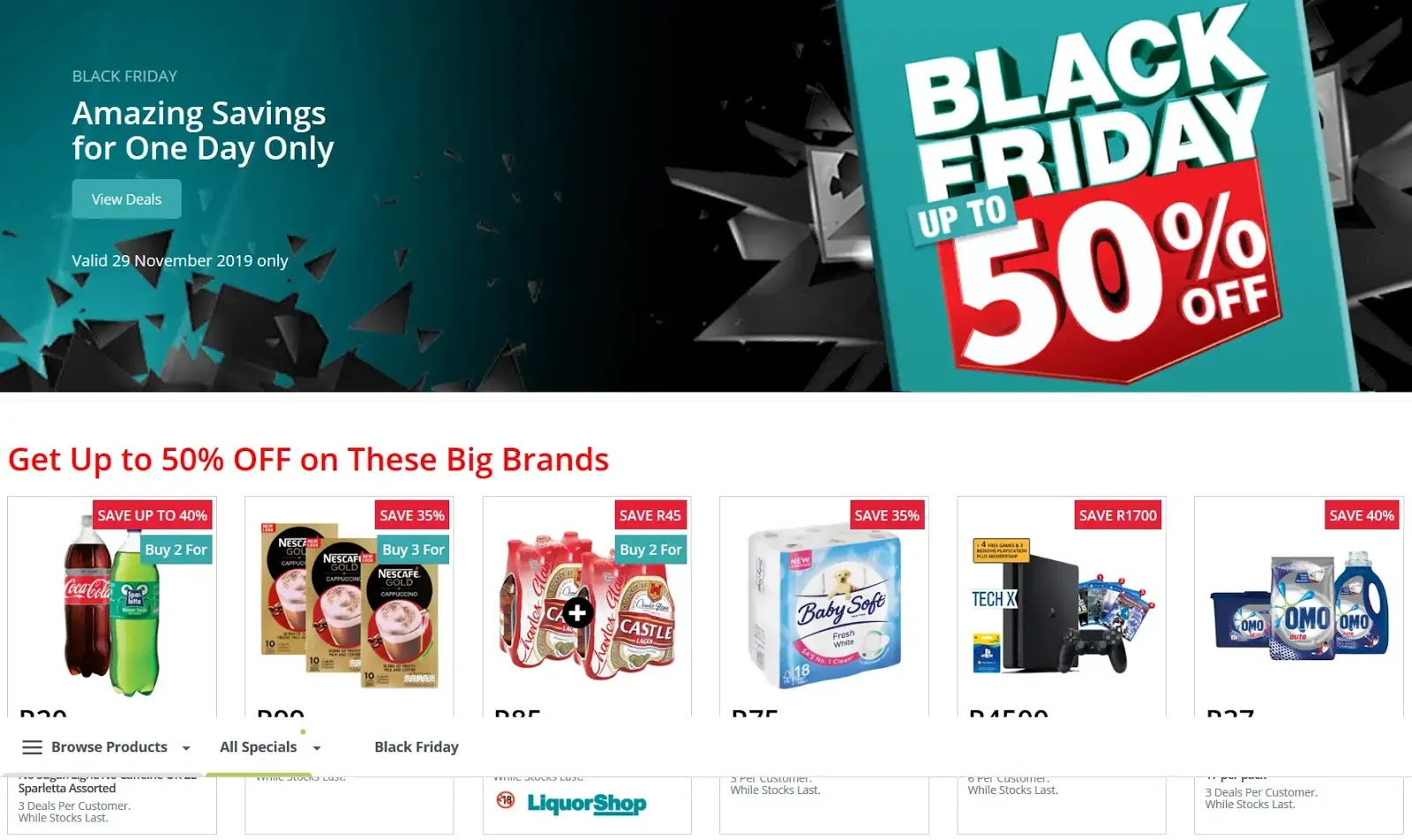 Updated 2019 Checkers Black Friday Deals Up To 50 Off