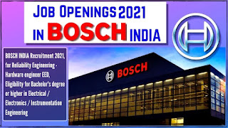 Open Job Campus Placement Drive for ITI and Diploma Holders By Company Bosch Ltd  Nashik, Maharashtra