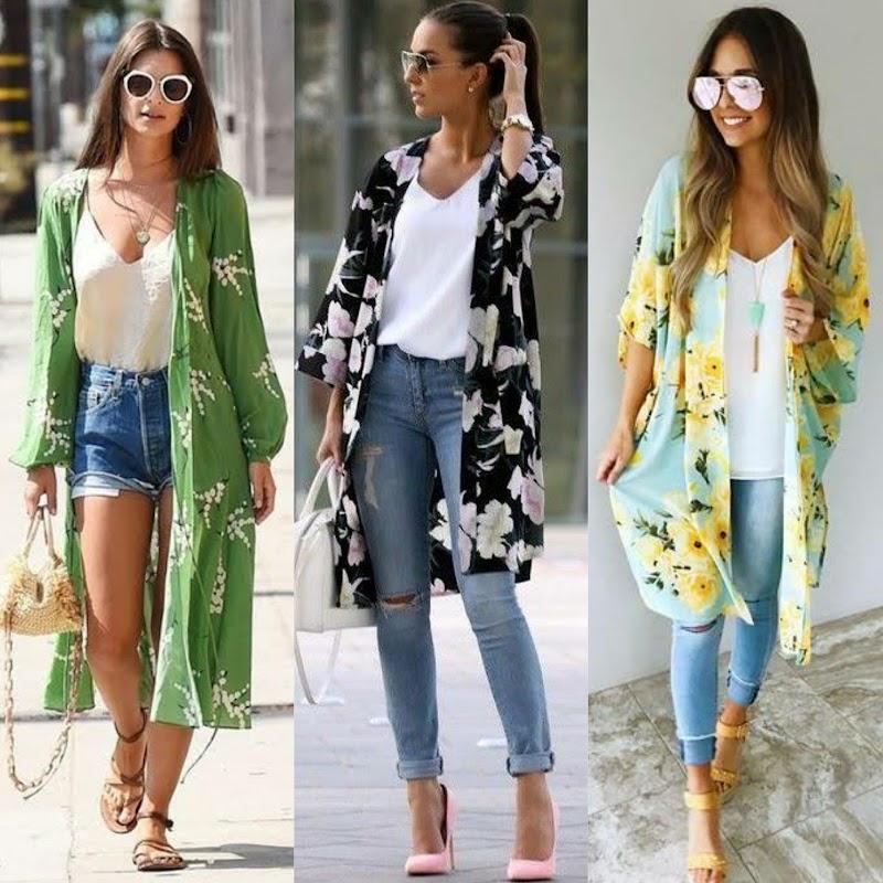 Kimono Modelleri ile Göz Alıcı Şıklık
