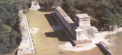 Great Ball Court, Chichen Itza Maya City