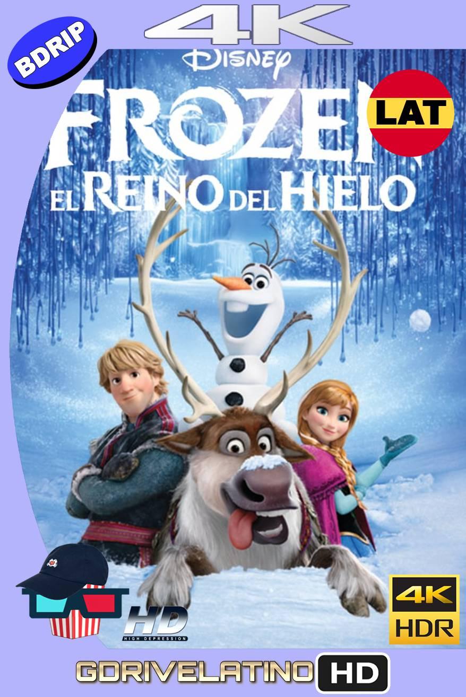 Frozen: El Reino del Hielo (2013) BDRIP 4K HDR Latino-Ingles MKV