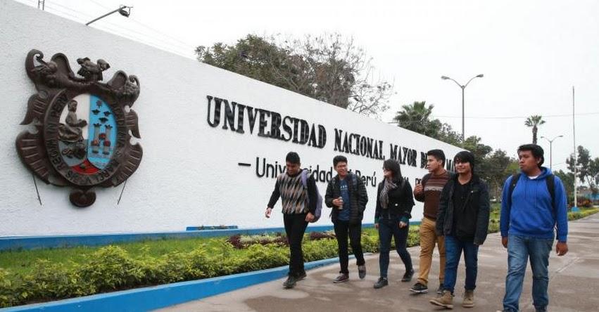 UNMSM: Universidad San Marcos figura entre las 1,000 mejores del mundo, según QS World University Rankings
