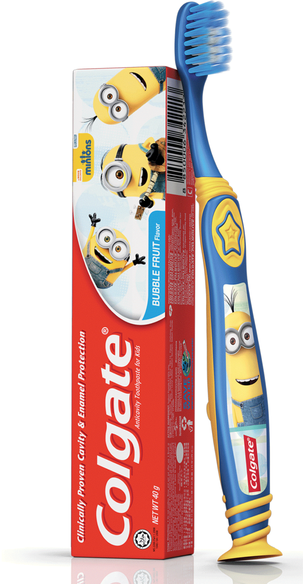 Kids Toothpaste And Toothbrush Make brushing more fun...