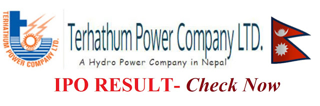 How to check IPO Result allotment of Terhathum Power Company quickly