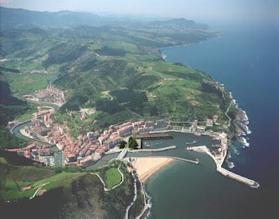 Panorámica de Ondárroa, Vizcaya