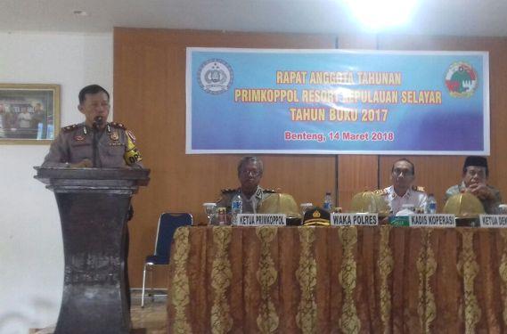 PRIMKOPPOL Jadi Koperasi Terbaik, Di Kabupaten Kepulauan Selayar