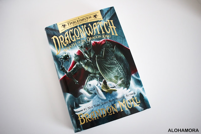 Dragonwatch 2: Wrath of the Dragon King by Brandon Mull. This juvenile aka middle grade fiction high fantasy is a fun action packed series for Fablehaven or Fantasy genre fans. 4 out of 5 stars in my book review. Details on the blog including who the book is perfect for. Alohamora: Open a Book Alohamoraopenabook http://alohamoraopenabook.blogspot.com/
