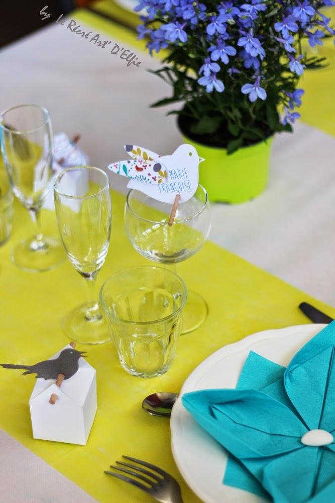 Decoration Table Bapteme Modele Pot En Verre Ou Autre Garcon